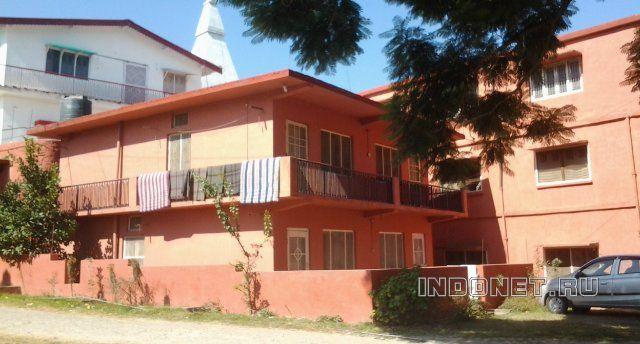 Чилиянула, ашрам Бабаджи, дом где мы живем