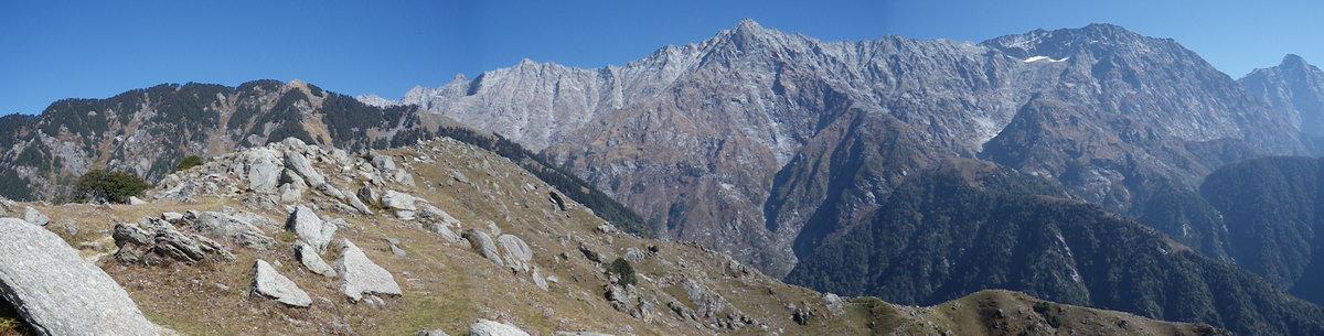Триунд и горы гряды Дауладхар