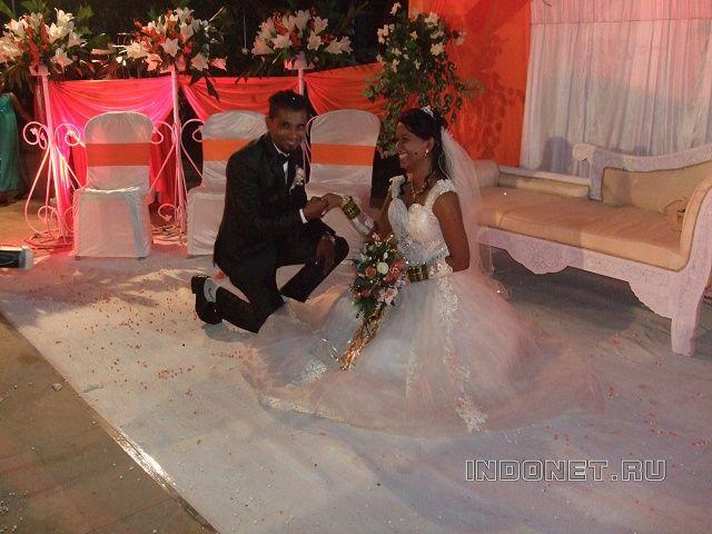 Индийская свадьба на Гоа.