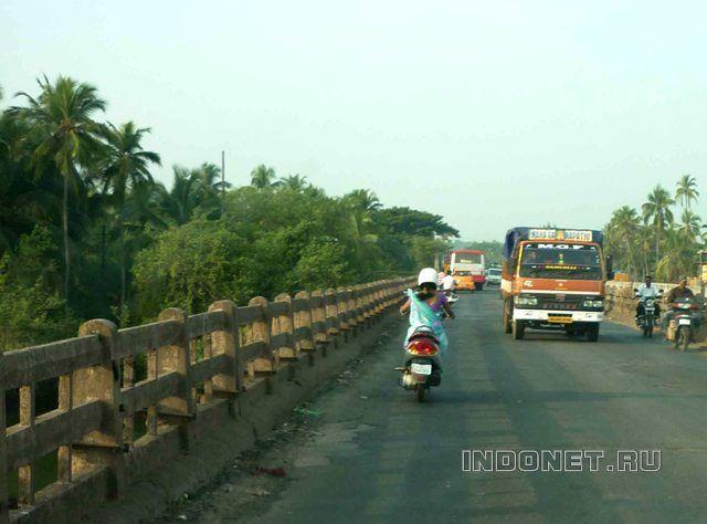 На байке из Гоа по южной Индии