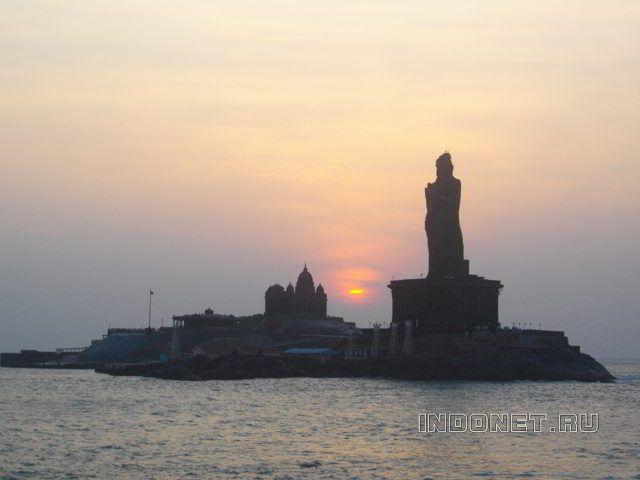 Каньякумари, самая южная точка Индии!