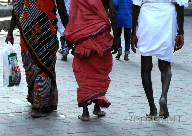 Босоногая Индия - традиции надо уважать