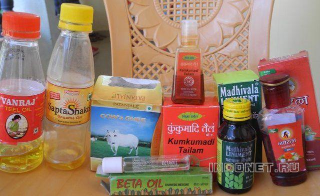 индийские масла в аюрведе