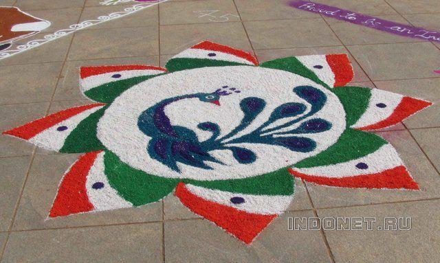 Фестиваль ранголи (фото-пост)