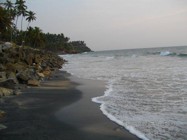 Индия, Варкала, море...