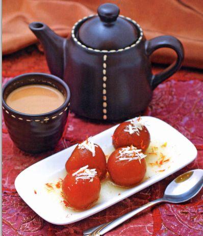 Гулаб джамун - индийская сладость