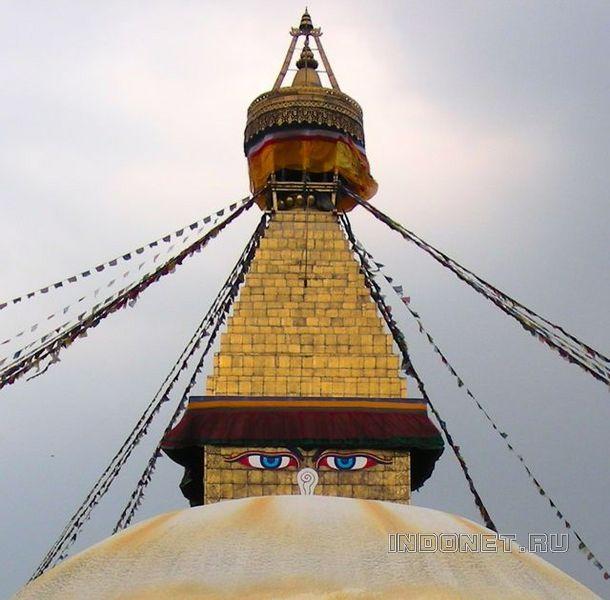 Непал. Буддийская ступа Буднатх