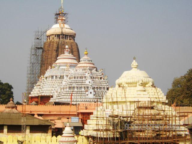 Пури, храм Джаганатх