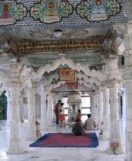 Джайнистский храм в Дели