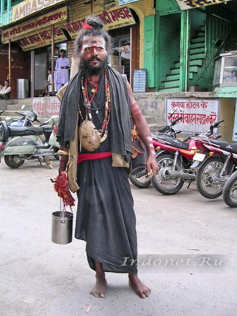 индийский садху агхори