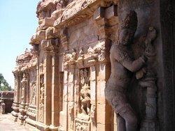 Паттадакал, стена храма