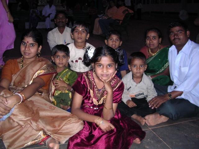 индийская семья, карнатака