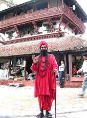 Катманду, фотомодель