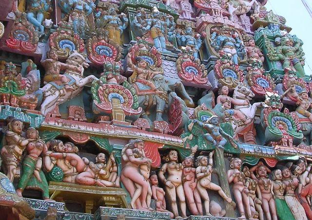 Эротика храмов индии