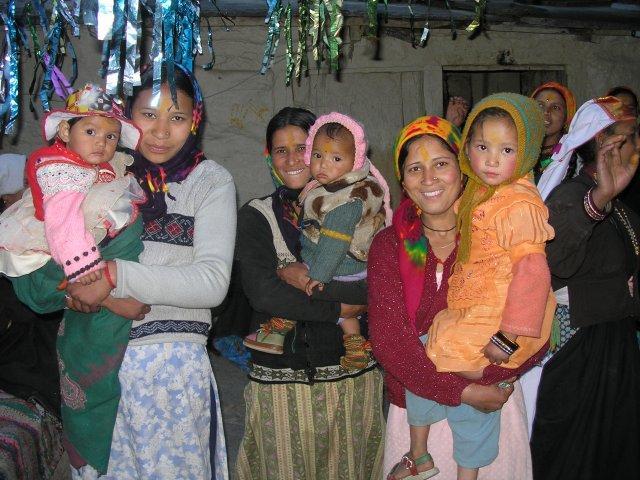 индийские женщины, горянки гархвала