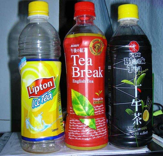 Как сделать чай в бутылках 443