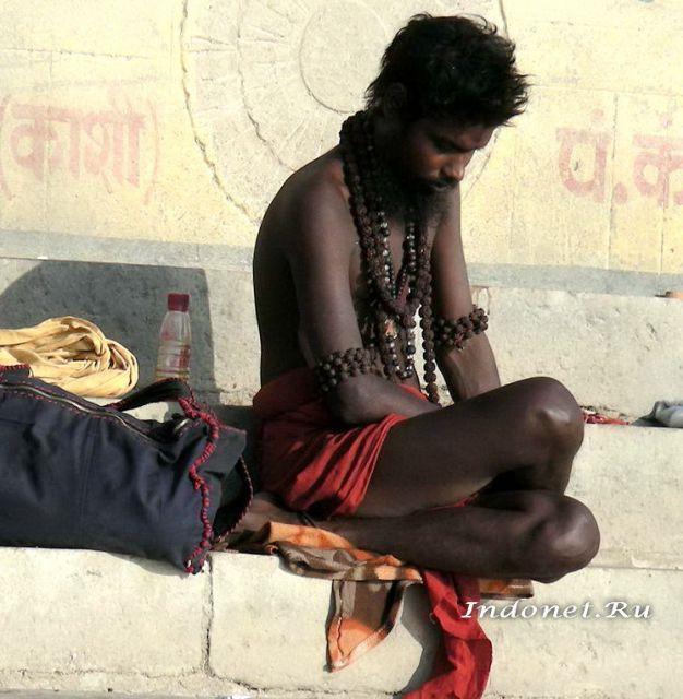 Индия, Варанаси, индуист - сандху