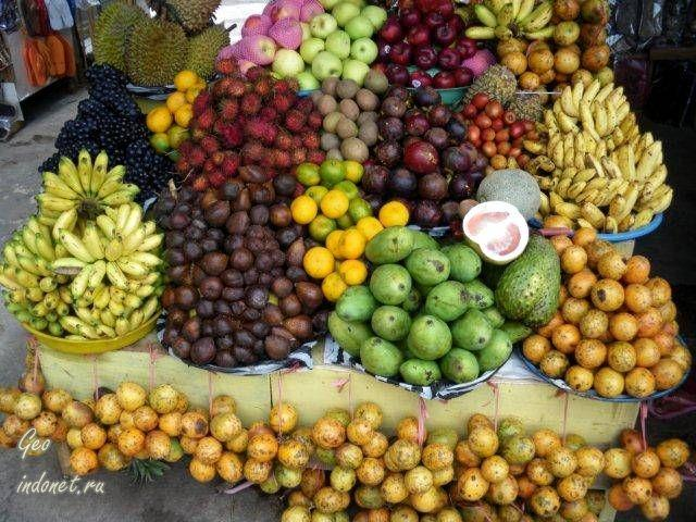 фрукты индонезии фото с названиями