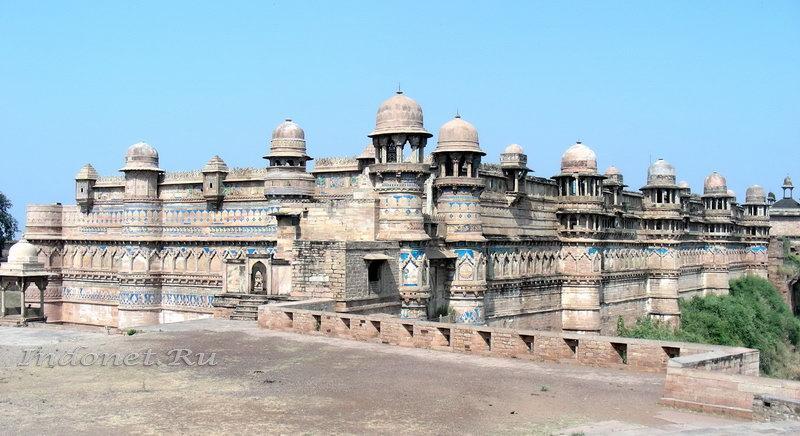 10 фактов об Индии. Форт Гвалиора