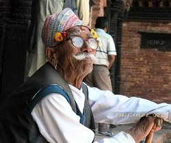 Непальский дедушка
