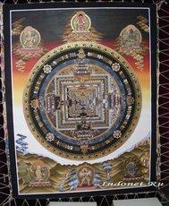 Танка. Буддийская мандала