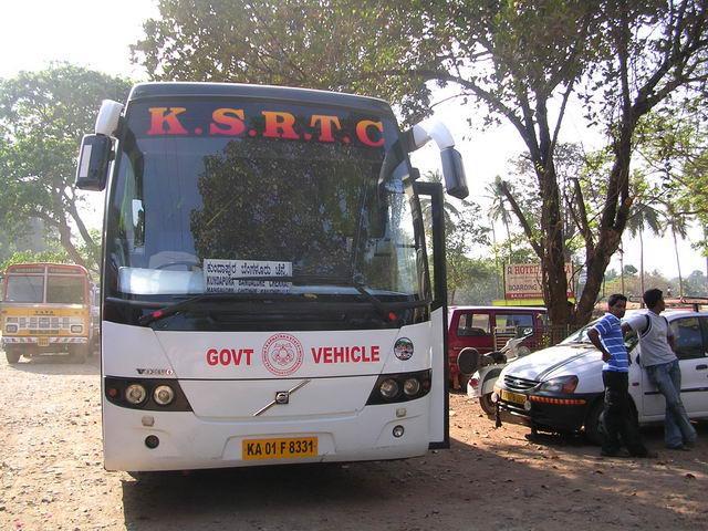 туристический автобус в Индии, государственный