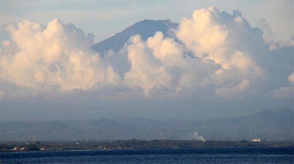 Бали, вулкан