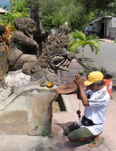 Бали. Обращение к местным духам