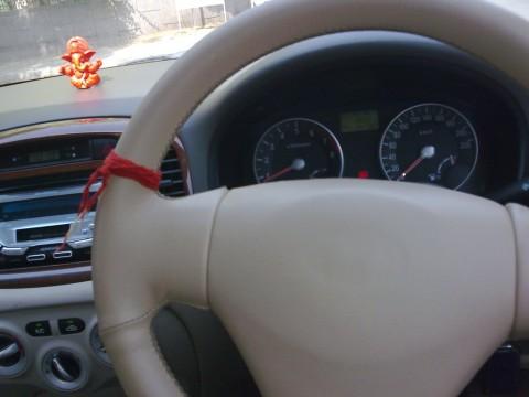 Моли для автомобиля. Повязывается на руль