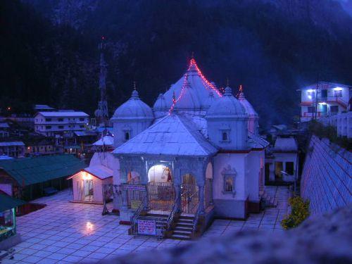 Храм богини Ганга в Ганготри
