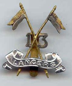 Эмблема 13го Бенгальского уланского полка