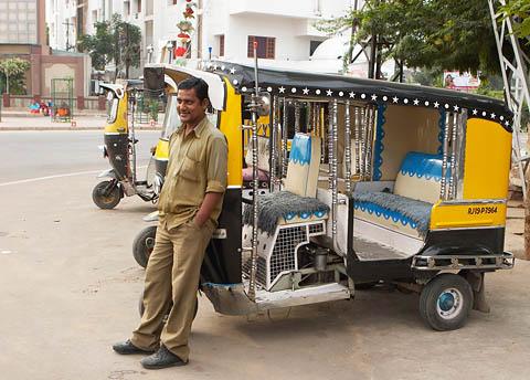Самые красивые машинки авторикш в Джодхпуре!