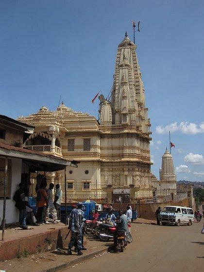 Храм Шри Гуру в Кампале
