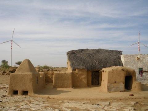 Сафари на верблюдах, деревня