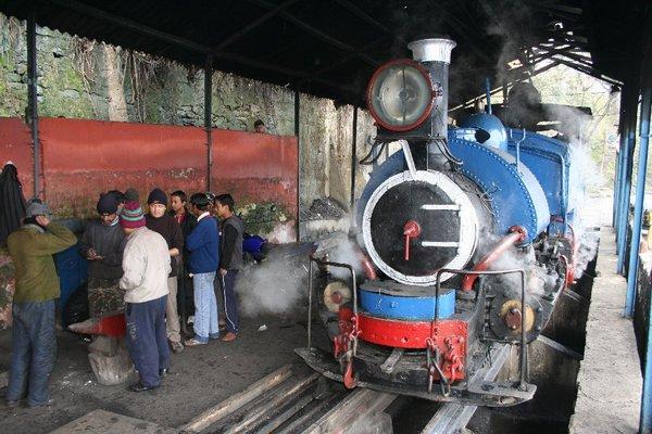 Поезд Дарджилингской гималайской ж\д