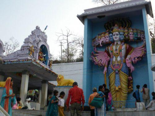 Омкарешвар, храмовый комплекс был построен мастерами из Тамил-Наду