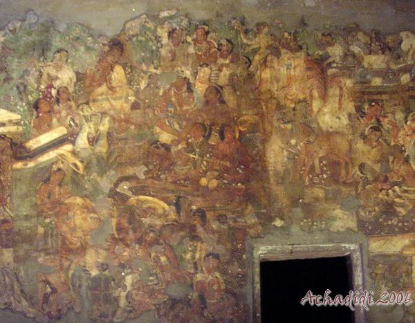 Аджанта, фрески