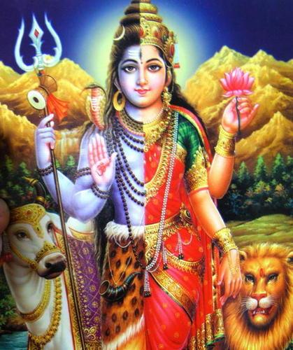 Ардхинаришвара - Шива и Шакти в одном теле
