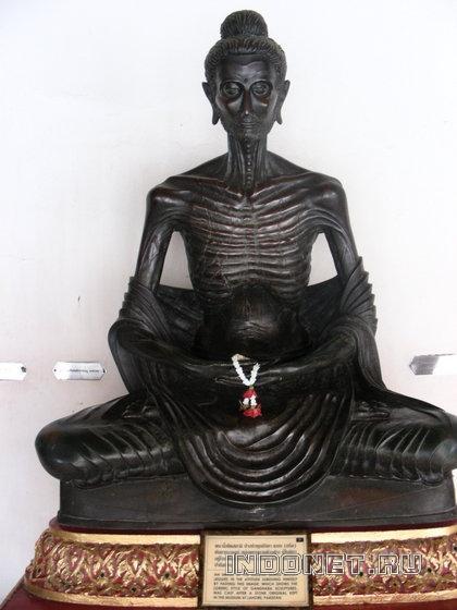 Статуя Будды, школа Гандхары