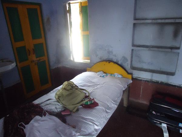 Ришикеш. Комната в Ашраме Вед Некетан
