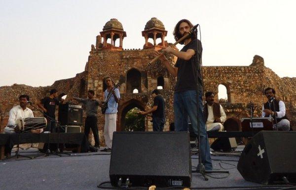 концерт суфийской музыки в Пурана Кила, Хумаюн Дарваза