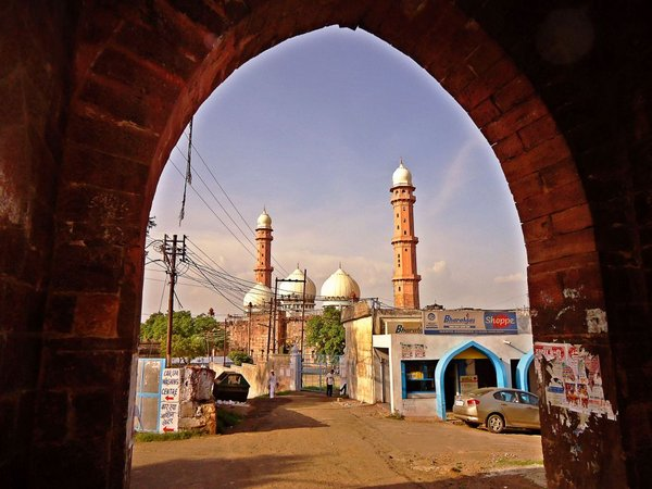 Бхопал. мечеть Тадж-уль-Масджид