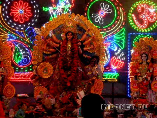 Дурга, Наваратри в Ришикеше
