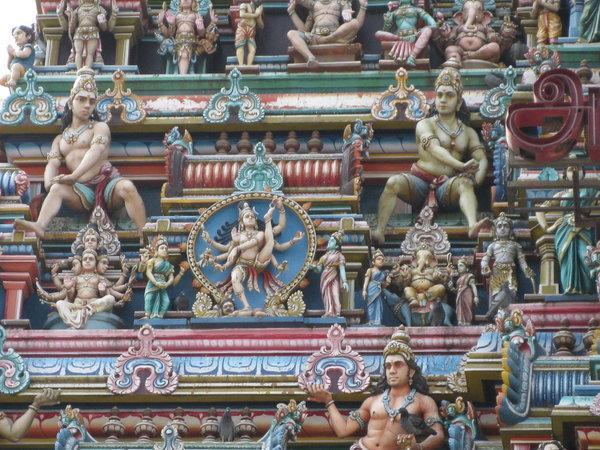 гопурам храма Капалишвара в Ченнаи