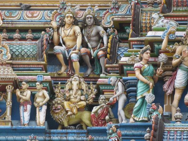 скульптура храма Капалишвара в Ченнаи