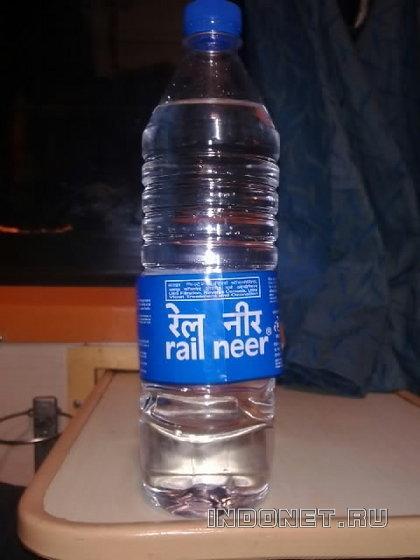 вода в поездах индии