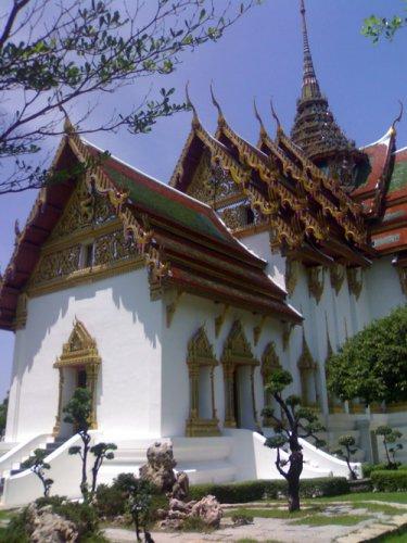 буддийский храм, копия в муэнг боран