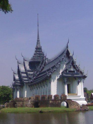Ansient Siam, восстановленный по чертежам дворец из Аютхаи