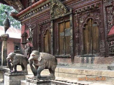 Слоны из Чангу нараян мандира