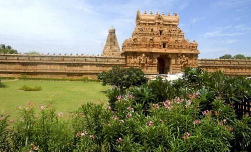 Большой храм в Танджавуре. Фото: M .Srinath thehindu.com